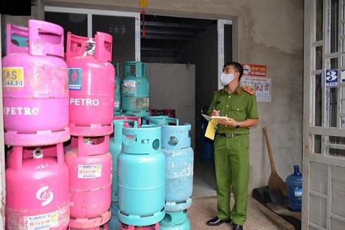 Bảo quản gas quá số lượng quy định