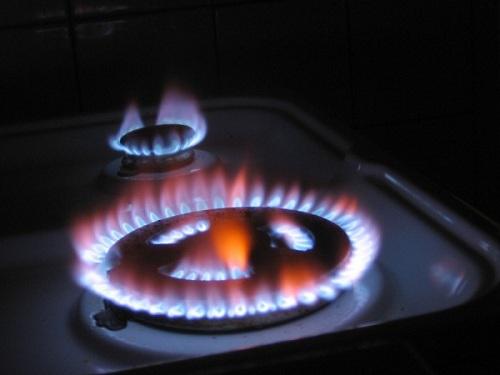 Độ lớn ngọn lửa không phù hợp khiến bình gas nhanh hết