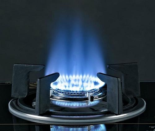 Ngọn lửa xanh chứng tỏ bếp gas hoạt động tốt