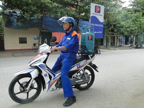 Vận chuyển bình gas Petrolimex an toàn